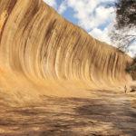 Hanging rock in Western Australia