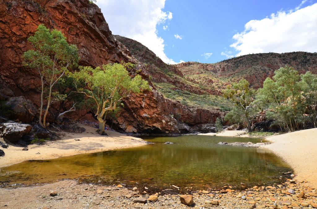 Australia, NT, Ormiston Gorge in West McDonnell Range national park